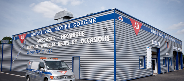 Garage Ad Martigne Ferchaud